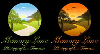 Memory Lane Photographic Tourism Logo Variations